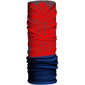 HAD Fleece sjaal Kinderen rood/blauw